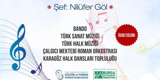 Bursa'da 'Kış Konseri'