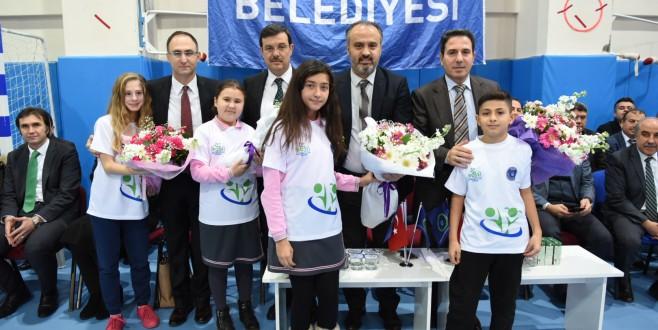 Bursa'da spora destek sürüyor