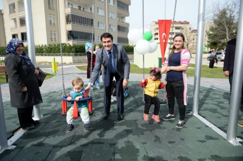 Bursa Osmangazi'den 1 yılda 33 park