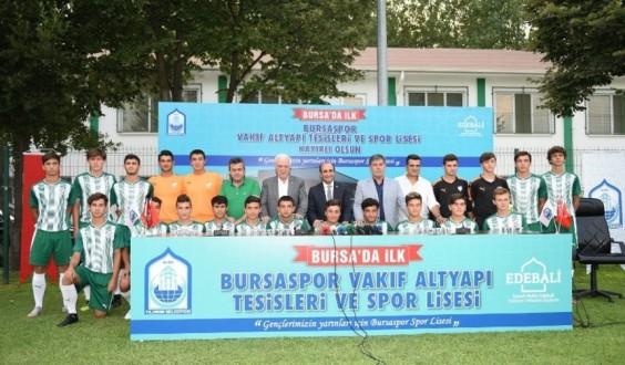 Yıldırım Belediyesinden Bursaspor'un Geleceğine Dev Yatırım